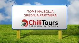 Chili tours opet među najboljim turističkim agencijama Hrvatske
