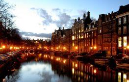 Nova godina u Amsterdamu avio