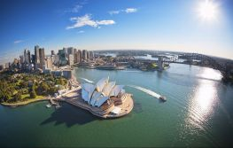 Sydney i krug oko Novog Zelanda