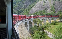 Švicarska alpskim željeznicama
